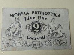 2 Lire 1848 - [ 3] Emissions Militaires