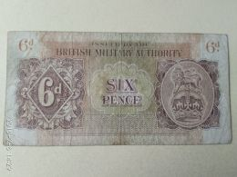 Occupazione Inglese In Sicilia 6 Pence 1943 - Other