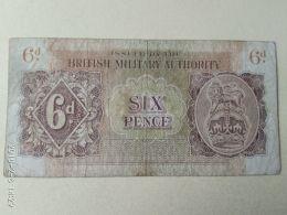Occupazione Inglese In Sicilia 6 Pence 1943 - Italia