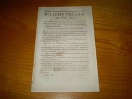 Filature De Poutay (Plaine Bas Rhin) Sté Anonyme Formée à Strasbourg: Statuts, Actionnaires.. Bulletin Des Lois 127 Bis - Decrees & Laws