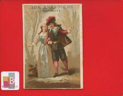 Paris Aux Amandiers Bd Voltaire  Rue Chemin Vert Rare Chromo Calendrier Années 1877 1878 Alfred Clarey Théâtre Cinq Mars - Calendriers