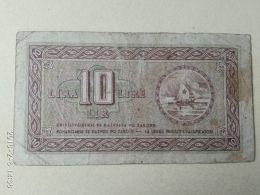 Istria Litorale Sloveno 10 Lire 1945 - [ 6] Colonies