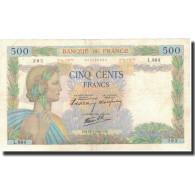 France, 500 Francs, 1940-07-25, KM:95a, TTB+, Fayette:32.5 - 1871-1952 Gedurende De XXste In Omloop