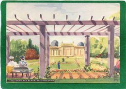 Liège - Palais Des Beaux-Arts - Roseraie PEINTURE   ANIMATION CPM Année 1953 Office Du Tourisme - Peintures & Tableaux