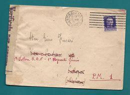 -= WW2 - Occupation De SOSPEL (Alpes Maritimes) Par L'armée Italienne – 1943 =- - Marcophilie (Lettres)