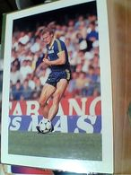 CALCIO.CALCIATORE HANS PETER BRIEGEL SQUADRA .VERONA SPONSOR CANON 1985 N1986 GN21569 - Calcio