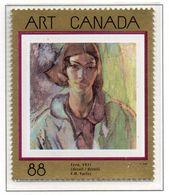 """PIA - CANADA - 1994 : Capolavori Dell' Arte Canadese - Quadro """"Vera"""" Di F.H.Varley  - (Yv 1364) - Nuovi"""