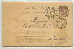 MONACO CARTE PHOTOS  RARE 1886 PRINCIPAUTE    VOIR IMAGES - Autres