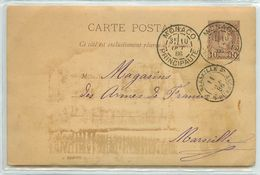 MONACO CARTE PHOTOS  RARE 1886 PRINCIPAUTE    VOIR IMAGES - Monaco
