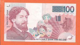 BILLET  DE 100 Fr  *   Ensor - [ 2] 1831-... : Belgian Kingdom