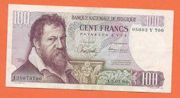 BILLET  DE 100 Fr  *  Laurent Lombard  1966 - [ 2] 1831-... : Belgian Kingdom