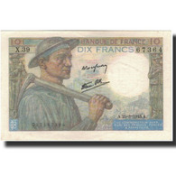 France, 10 Francs, 1946-09-26, KM:99e, SPL+, Fayette:8.8 - 1871-1952 Circulated During XXth