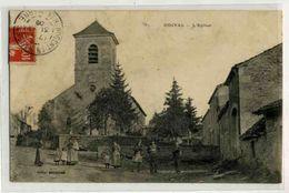ODIVAL L église, Rue Animée - France