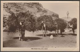 Fire-Wood Sellers, Aden, C.1910s - Coutinho RP Postcard - Yemen