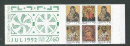 SUEDE 1992 - CARNET  YT C1730 - Facit H432 - Neuf ** MNH - Noël, Icônes - Booklets