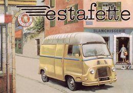 Renault Estafette   -  Advertising Postcard   - CPM - Camions & Poids Lourds