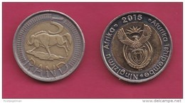 SOUTH AFRICA, 2015, 1 Off Nicely Circulated Coin 5 Rand, Wildebeest, C1464 - South Africa