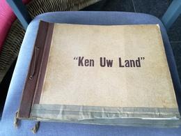 Ken Uw Land:plakalbum 52 Blz=520 Foto's (af Te Halen Te Lier) - Livres, BD, Revues