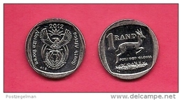 SOUTH AFRICA 2012 Nicely  Used Coin 1 Rand C1500 - South Africa