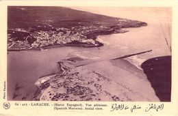 CPA Maroc Espagnol Larache Maroc Vue Aérienne N738 - Other