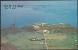 End Of The Road, Land's End, Cornwall, C.1970s - Larkfield Postcard - Land's End