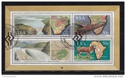RSA, 1990, Cancelled To 0rder Block Co-operation In Southern Africa,  Ms18, #5386 - Used Stamps