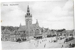 DANZIG GDANZK (Pologne)  (gare - Pologne