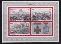 RSA, 1995, Cancelled To 0rder Block, Zulu War  Bl5, #5357 - South Africa (1961-...)