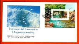 RSA, 1992, Mint First Day Cover, Nr. 5-18ms, Environment Block Fed 7, SACCnr(s) - FDC