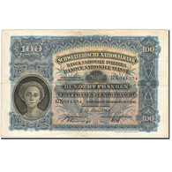 Billet, Suisse, 100 Franken, 1921-1928, 1947-10-16, KM:35u, TB+ - Suiza