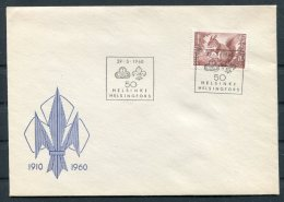 1960 Finland Helsinki Scouts Cover - Covers & Documents