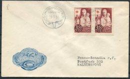 1951 Finland Red Cross Charity, Napapiiri Polarcirkeln, Polar Circle Cover - Covers & Documents