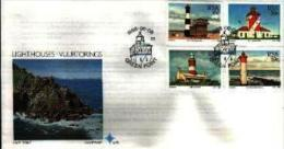 REPUBLIC OF SOUTH AFRICA, 1988, Lighthouses,  First Day Cover 4.26 - South Africa (1961-...)