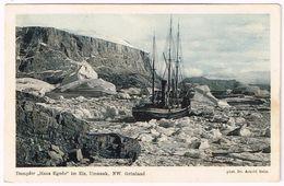 "UMANAK 1910 Explorer Dr. Arnold Heim With ""Hans Egede"" In Greenland - Grönland"