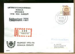 DEUTSCHE - FELDPOST 1994 - BUNDESWEHR - SOMALIA EINSATZ - UNOSOM DJIBOUTI - [7] Federal Republic