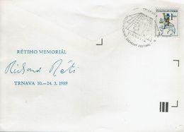 Schach Chess Ajedrez échecs - Tschechoslowakei CSSR Czechoslovakia - Trnava 11.03.1989 - Schach