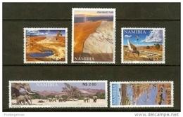 NAMIBIA, 2002, MNH  Stamps, Rivers Of Namibia, Sa395-399,   #13492 - Namibië (1990- ...)