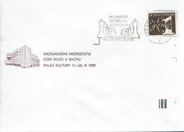 Schach Chess Ajedrez échecs - Tschechoslowakei CSSR Czechoslovakia - Praha 18.09.1989 - Schach