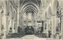 Oudenburg   -   Intérieur De L'Eglise   -   Prachtige Kaart  1905  Naar   Gand - Oudenburg