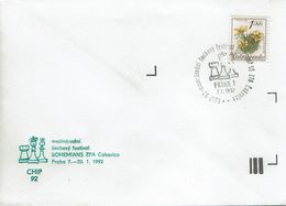 Schach Chess Ajedrez échecs - Tschechoslowakei CSSR Czechoslovakia - Praha 07.01.1992 - Schach