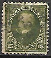 ETATS - UNIS   -   1898 . Y&T N° 128 Oblitéré.  Cote 11,00 Euros - Used Stamps