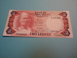 Billet Banque Sierra Leone - 2 Léones - - Sierra Leone