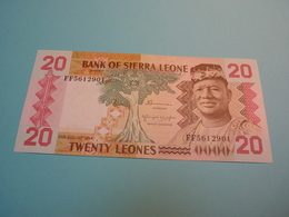 Billet Banque Sierra Leone - 20 Léones - - Sierra Leone