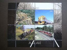 Trains. Züge. Vapeurs # 2011 MNH S/s # (1856) # Locomotives Transport - Trains