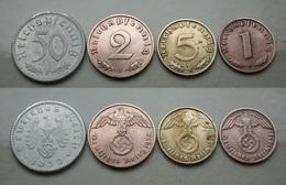 Drittes Reich Münzlot 1938 - 1939 Schön !     (K210) - [ 4] 1933-1945: Drittes Reich