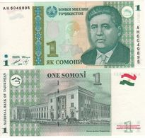 TAJIKISTAN   1  Somoni   P14    Dated 1999 (2000)  UNC - Tajikistan