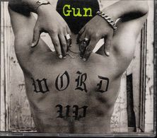 GUN - WORD UP - CD MAXI - A & M RECORDS (1994) - Rock