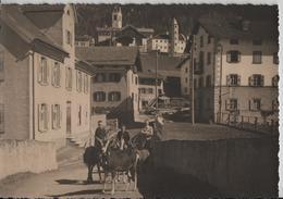 Savognin - Dorfpartie Mit Ziegen, Chevres, Animee - GR Grisons