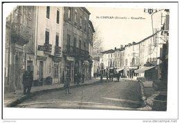 SAINT CHINIAN GRAND'RUE (MANQUE ANGLE) - France