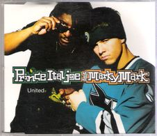 PRINCE ITAL JOE & MARKY MARK - UNITED - CD MAXI - EASTWEST RECORDS (1994) - Dance, Techno & House